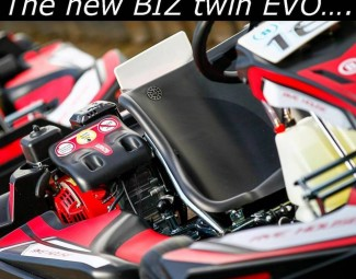 the new biz twin evo kart