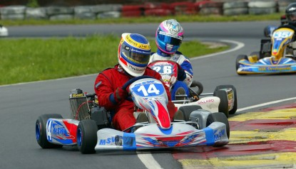owner-drivers kart racing