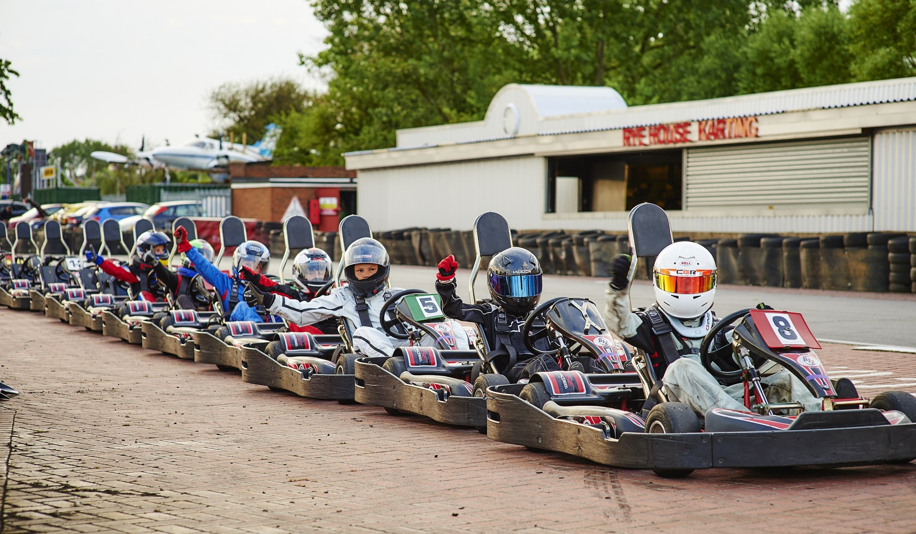 children karting parties