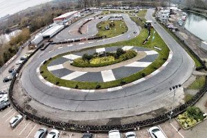 Rye House Saffron Walden - The track - one of the oldest in England