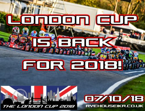 The London Cup – Extra Grid!!!