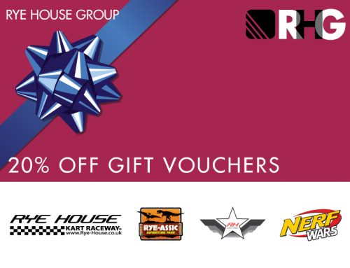 20% off gift vouchers this Christmas