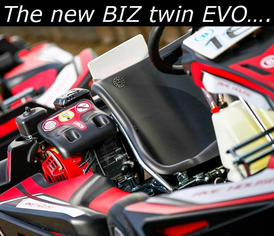 the new biz twin evo kart