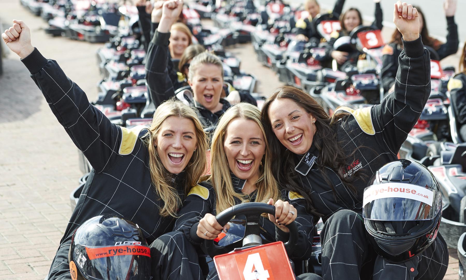 females go kart racing