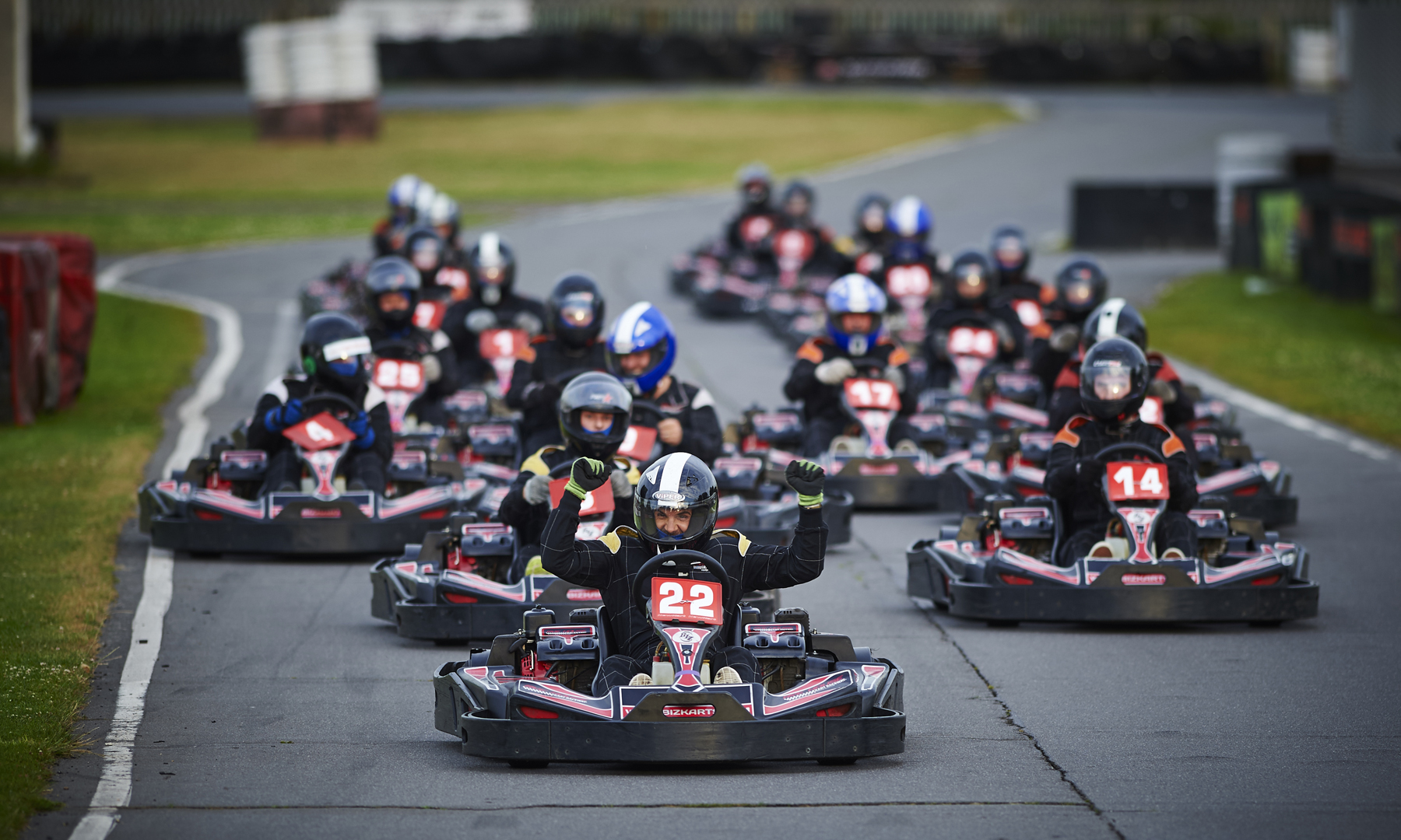 Team Building kart racing