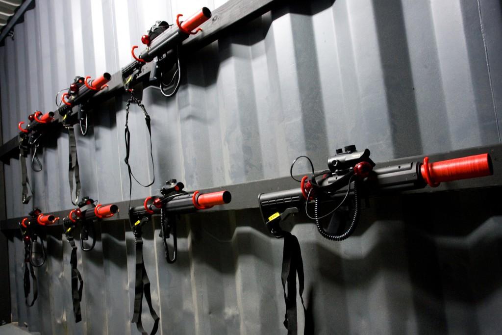 laser tag guns