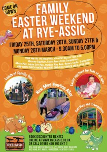 Family Easter Weekend At Rye-Assic Adventure Park