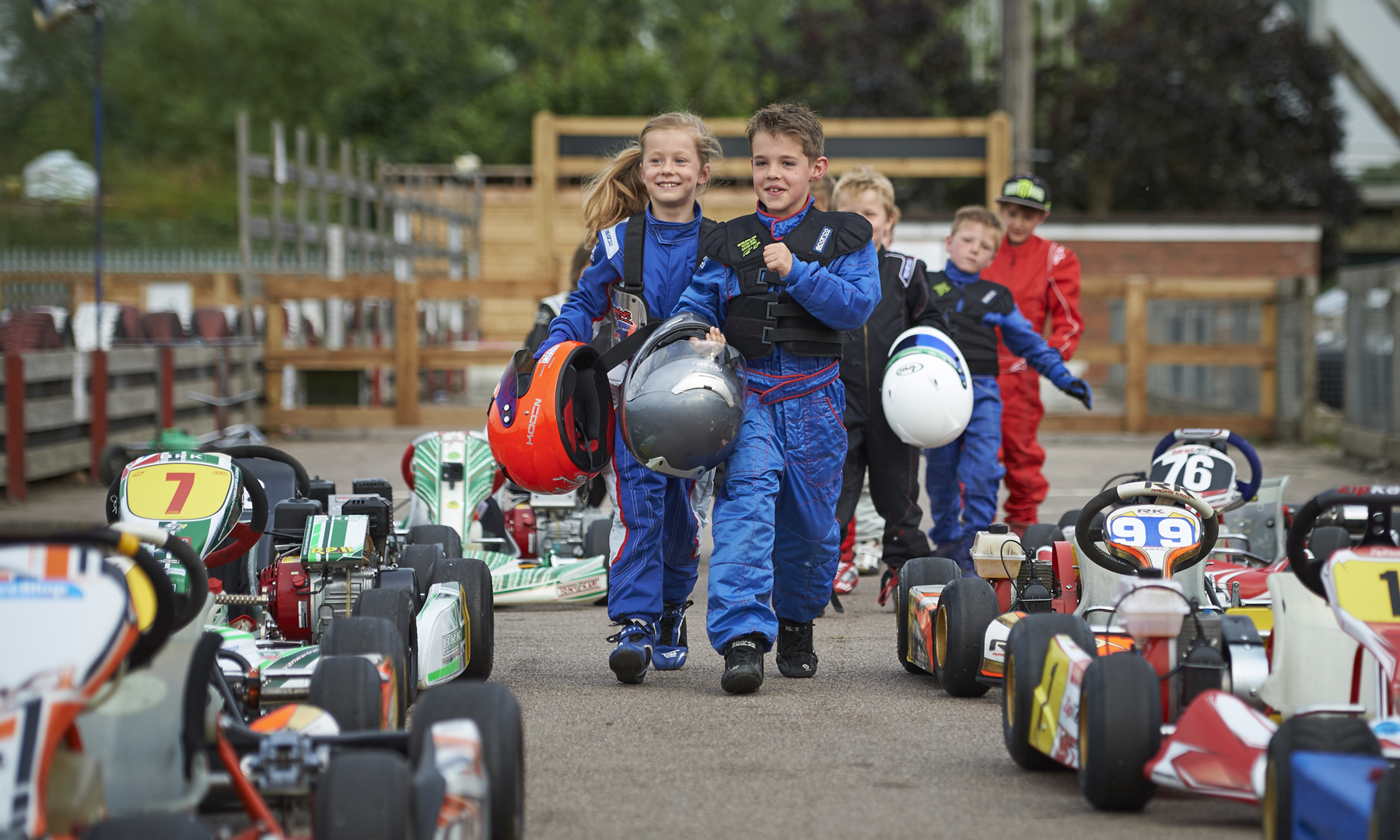 juniors go karting