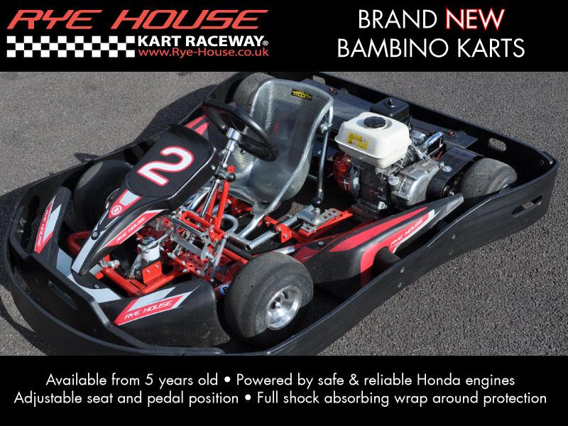 NEW Bambino karts are here - Rye House