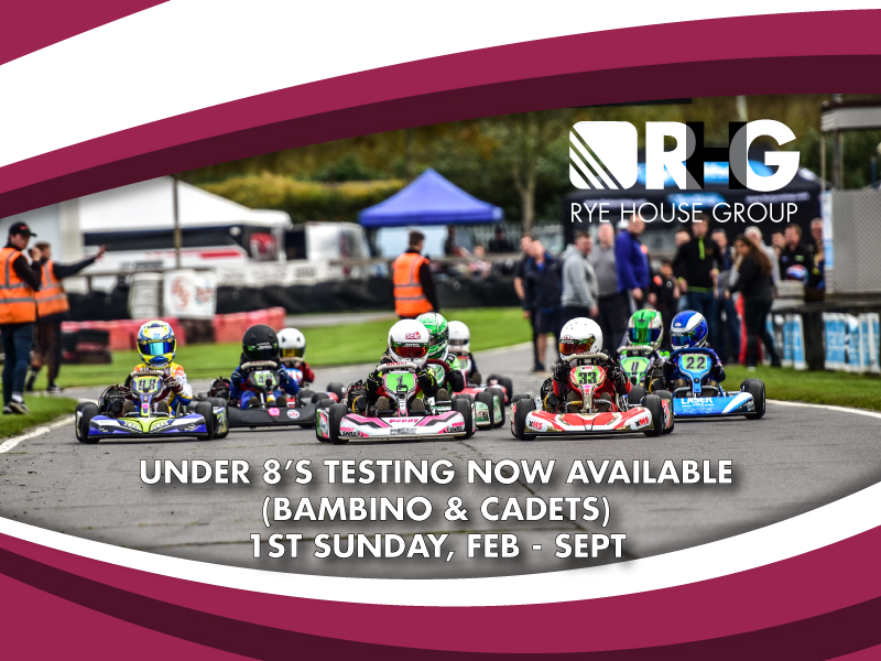 Under 8's Open Testing 2019