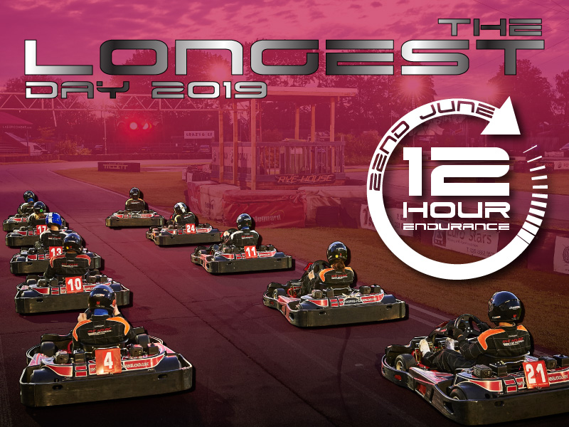 The Longest Day – 12 Hour Team Endurance – 22nd June
