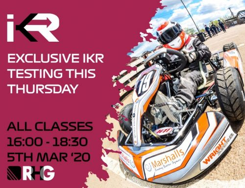 ADDITIONAL TEST SESSION FOR IKR COMPETITORS