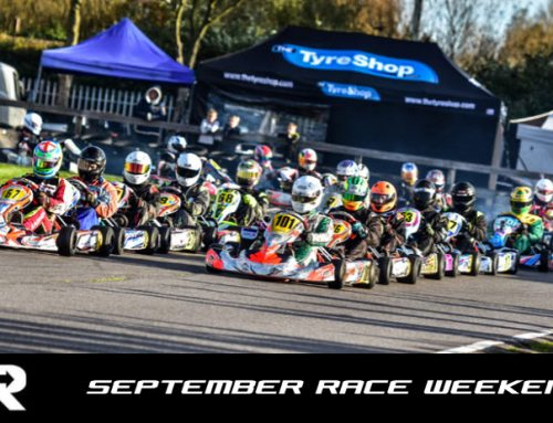 SEPTEMBER IKR RACE DAY NOW OPEN